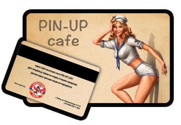 Изготовление пластиковых карт с нумерацией и магнитной лентой для кафе Пин Ап